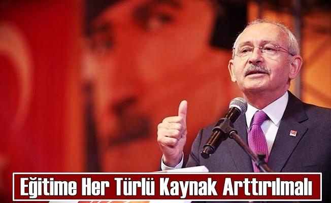 CHP Genel Başkanından Açıklama: ''Kapatın Milli Eğitim Bakanlığını''