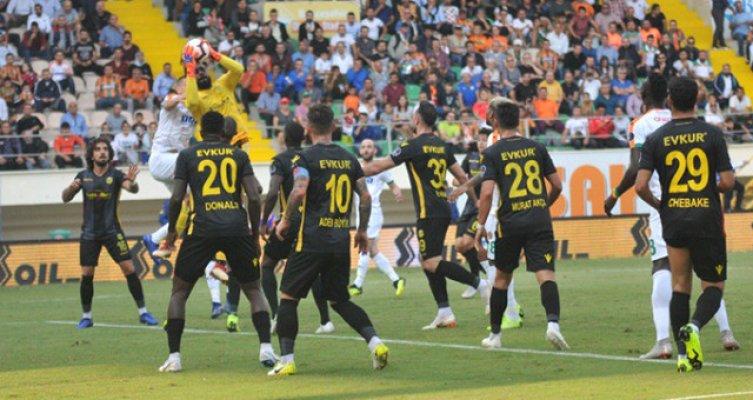 Yeni Malatyaspor 3 Puanı Tek Golle Aldı