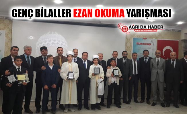 Ağrı'da Genç Bilaller Ezan Okuma Yarışması