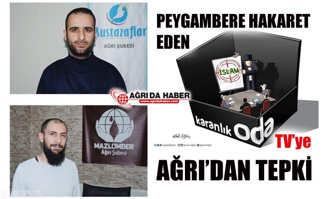 Ağrı'daki Sivil Toplum Kuruluşlarından Oda TV'ye tepki