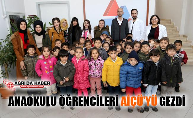 Anaokulu Öğrencileri AİÇÜ'yü Gezdi