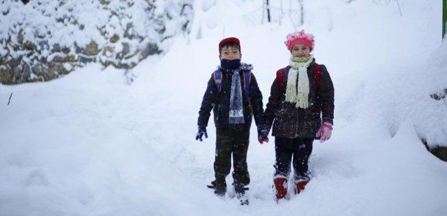 Eğitime Kar Tatili!