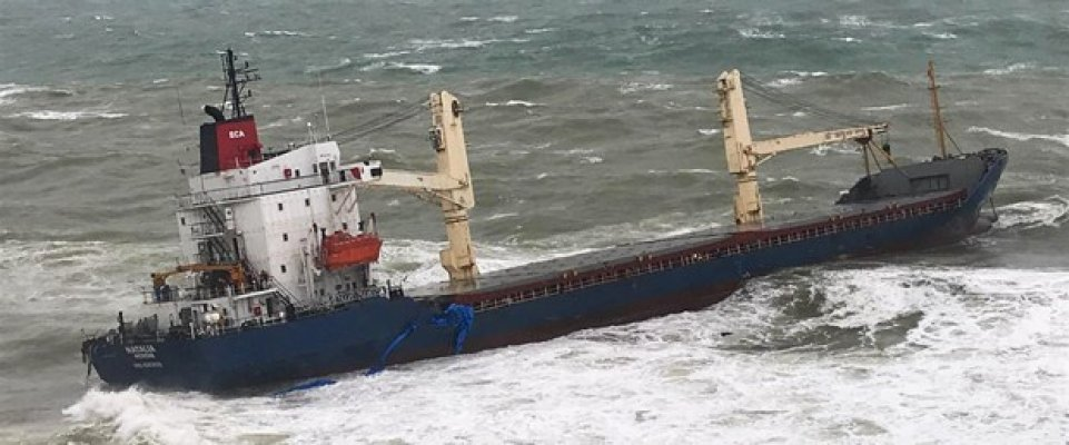 Şile'de Can Pazarı! Gemi Karaya Oturdu!