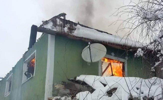 Yaşlı Çiftin evleri yandı