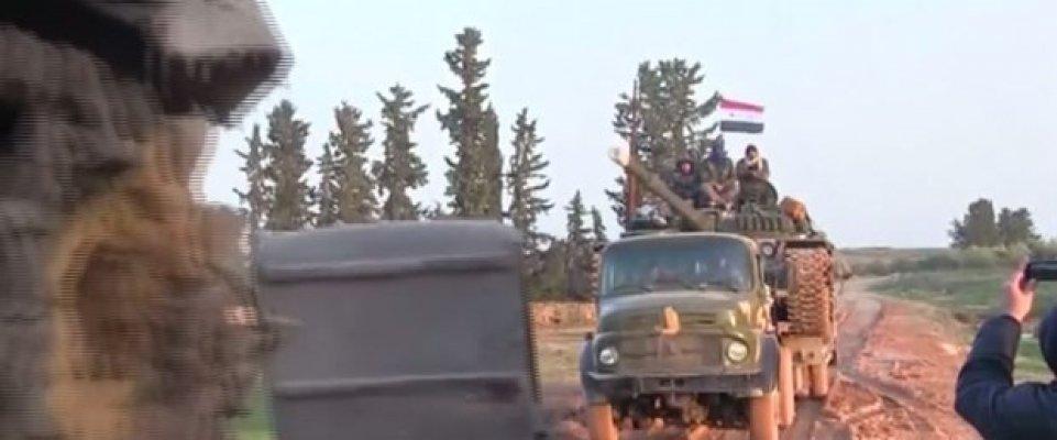 Esad Rejiminden Münbiç Çevresine Askeri Yığınak