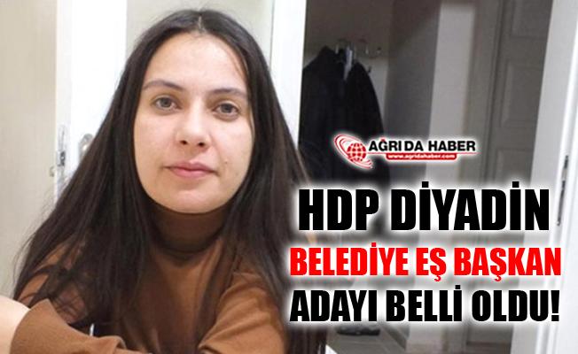 HDP Diyadin Belediye Eş Başkan Adayı Hazal Aras Oldu