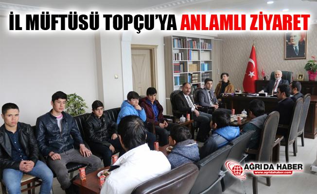İl Müftüsü Tandoğan Topçu'ya Anlamlı Ziyaret