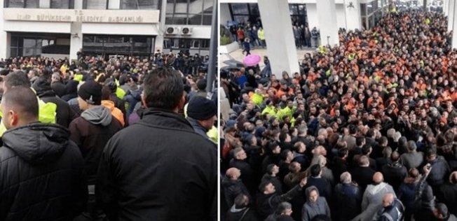 İzmir'de Biber gazlı polis müdahalesi