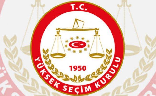 YSK 31 Mart Seçimlerine Katılacak Partileri Açıkladı