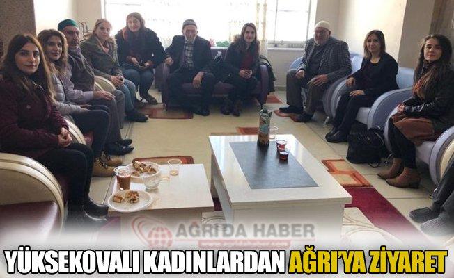Yüksekovalı Kadınlardan Ağrı'ya Ziyaret!
