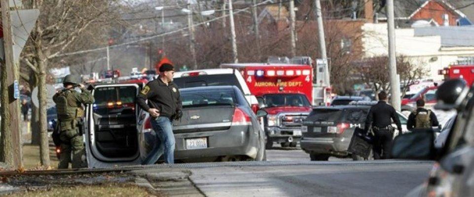 ABD'de Silahlı Saldırı! 5 Polis Yaralandı 5 Kişi Öldü!