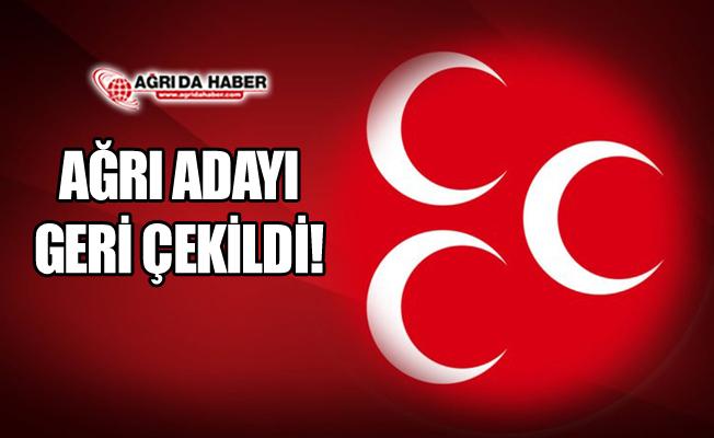 Cumhur İttifakı Kapsamı Genişliyor! MHP Ağrı Adayını Geri Çekti!