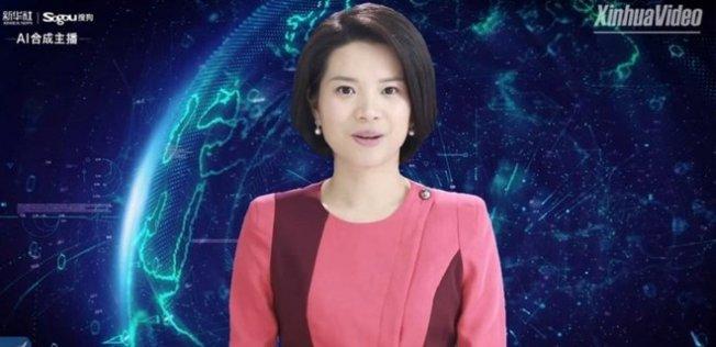 Dünyanın İlk yapay zeka sunucusu Çin'de!