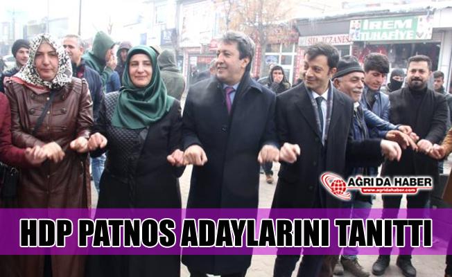 HDP 31 Mart Seçimleri için Patnos Adaylarını Tanıttı