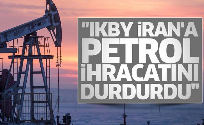 """""""IKBY İran'a Petrol İhracatını Durdurdu"""" İddiası"""