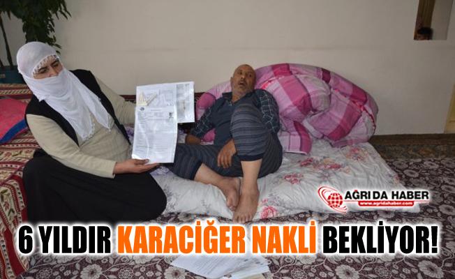 Patnos'ta Yaşayan Vatandaş 6 Yıldır Karaciğer Nakli Bekliyor