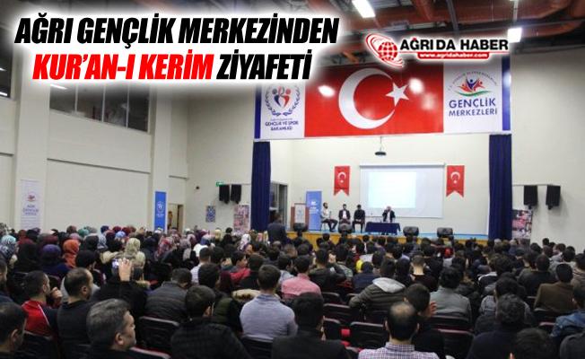 Ağrı Gençlik Merkezi'nden Kur'an-ı Kerim Ziyafeti