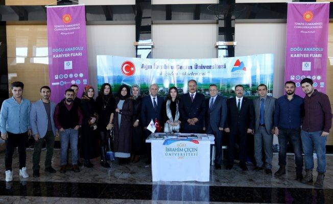 Ağrı İbrahim Çeçen Üniversitesi Doğu Anadolu Kariyer Fuarı'na (DKF'19) Katıldı