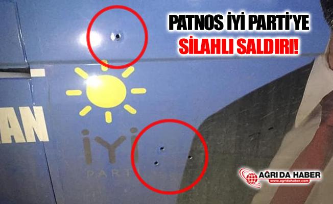 Ağrı Patnos İYİ Parti Belediye Başkan Adayına Silahlı Saldırı!