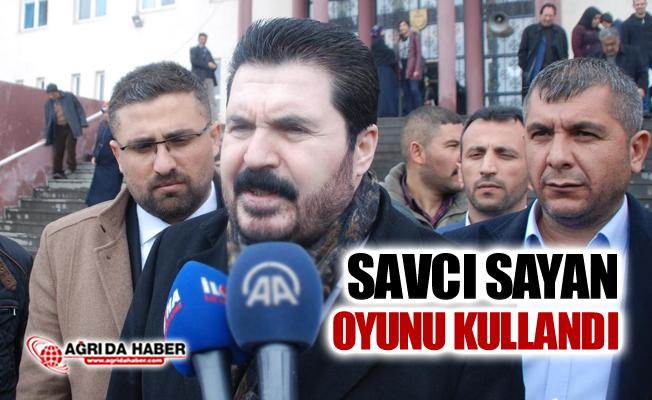 AK Parti Ağrı belediye başkan adayı Savcı Sayan Oyunu Kullandı