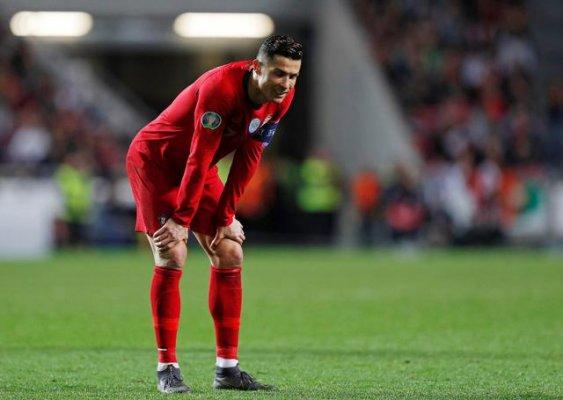 Cristiano Ronaldolu Portekiz 1 Puanla Yetindi
