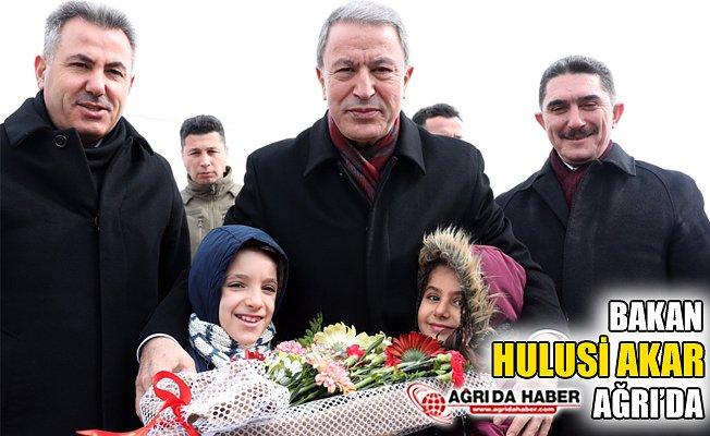 Milli Savunma Bakan'ı Hulusi Akar Ağrı'da!