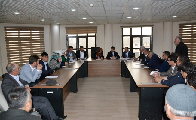 Ağrı Patnos'ta İlk Meclis Toplantısı Düzenlendi