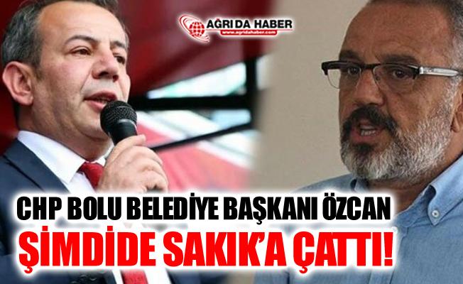 CHP Bolu Belediye Başkanı Tanju Özcan, HDP'li Sırrı Sakık'a Çattı