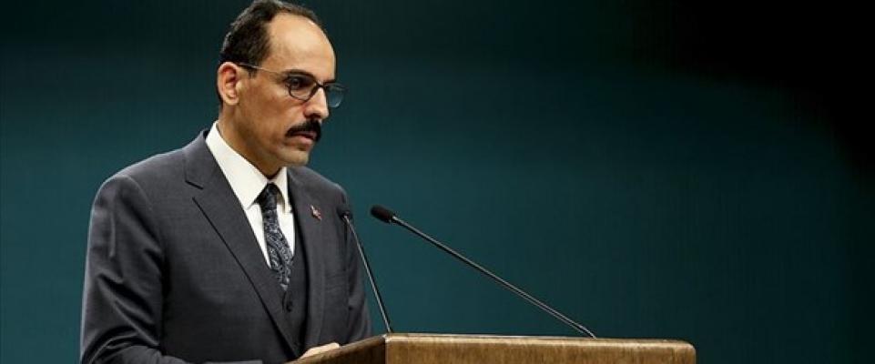 Cumhurbaşkanlığı Sözcüsü İbrahım Kalın'dan Netenyahu'ya Tepki