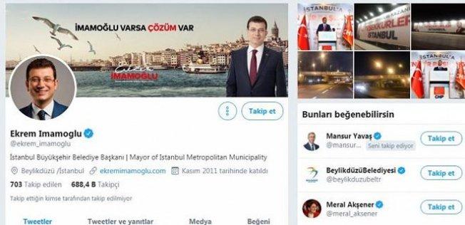 Ekrem İmamoğlu'ndan Yeni Profil