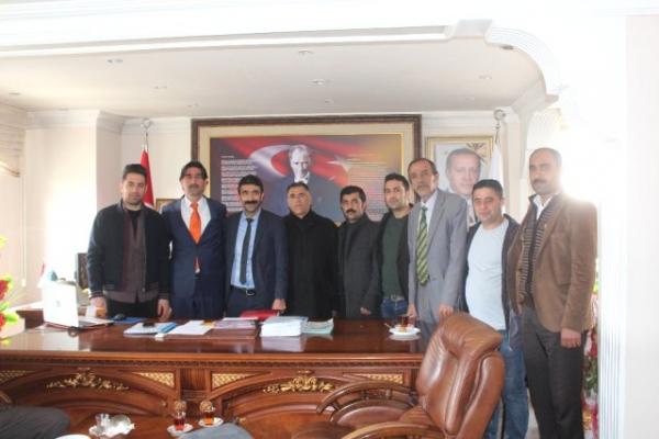 Taşlıçay Spor Kulübü'nden Belediye Başkanı Taşdemir'e Ziyaret