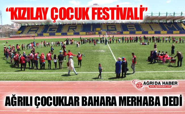 """Türk Kızılayı Ağrı Şubesi """"Kızılay Çocuk Festivali"""" Düzenledi"""
