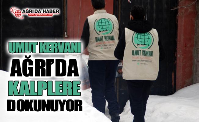 Umut Kervanı Ağrı Şubesi 3 aylık faaliyet raporunu açıkladı