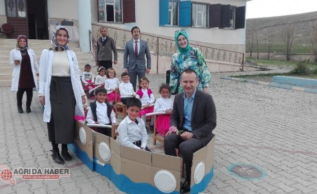 Ağrı Milli Eğitim Müdürü Mehmet Faruk Tekin Diyadin ilçesinde