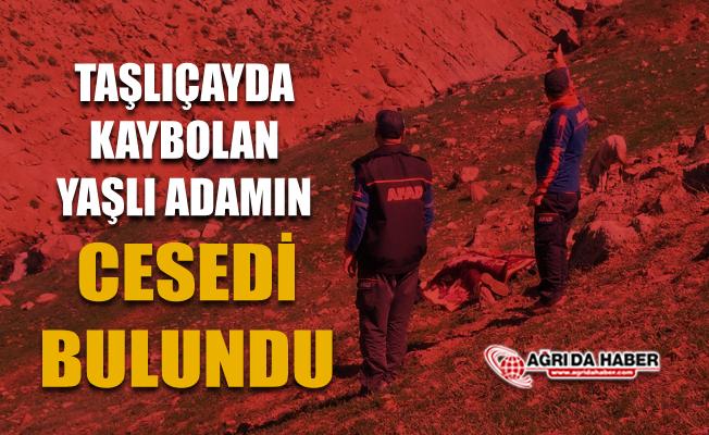Ağrı Taşlıçay'da 61 Yaşındaki Kayıp Adamın Cesedi bulundu