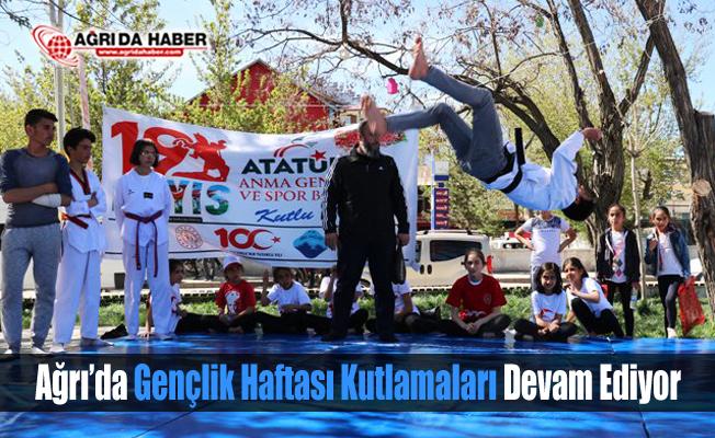 Ağrı'da Gençlik Haftası Kutlamaları Devam Ediyor