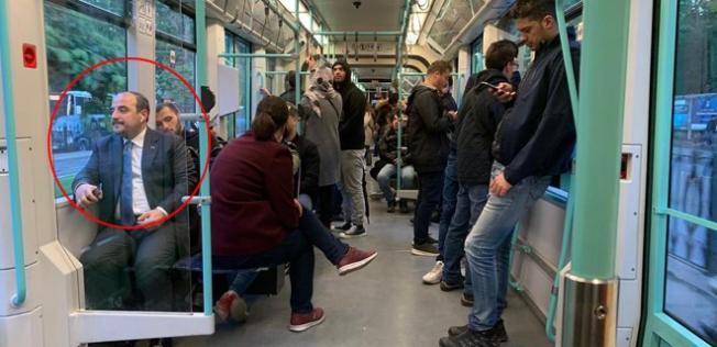 Sosyal Medyayı Sallayan Paylaşım Bakan Tramvayla