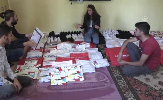 Ağrı'da Milyon Gülücük Projesi ile 300 köy okulu öğrencisine çifte bayram