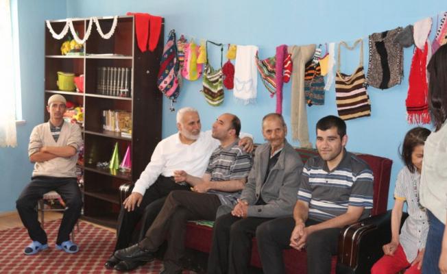 Ağrı Müftüsü Topçu'dan Engelli Kardeşlerimize Moral ziyareti