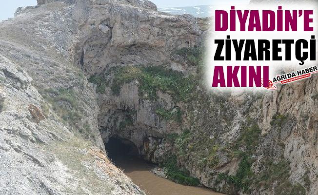 Bayram Tatilinde Diyadin'e Ziyaretçi Akını Oldu!