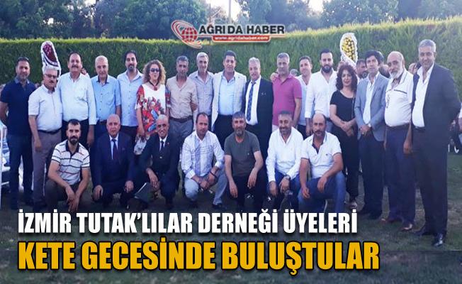 İzmir Buca'da Tutak'lılar Derneği Kete Gecesi düzenledi