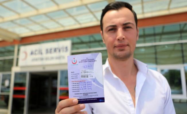 Tartıştığı kişi Isırdı Hastanede Kuduz Aşısı Yaptırdı!