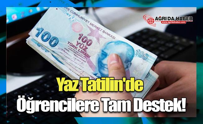 Yaz Tatilin'de Öğrencilere Tam Destek!