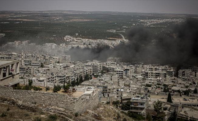 İdlib'de Hava Saldırıları Devam Ediyor!