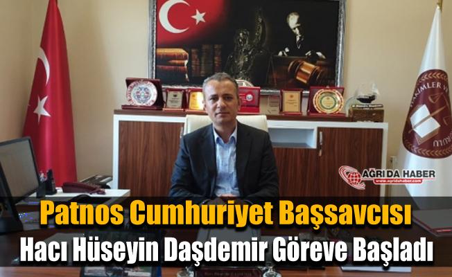 PatnosCumhuriyet Başsavcısı Hacı Hüseyin Daşdemir görevine başladı