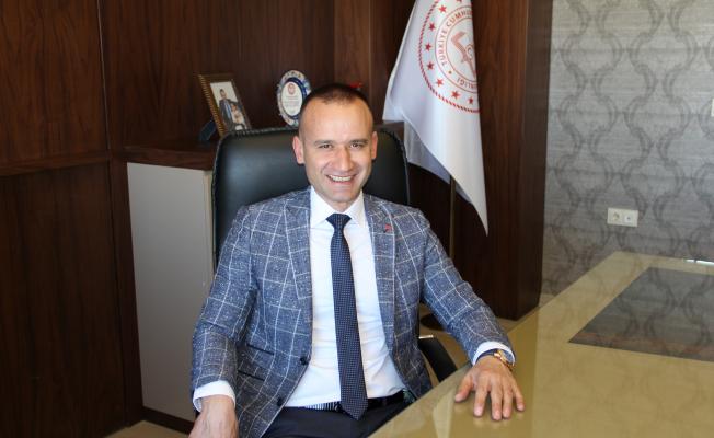 Ağrı İl Milli Eğitim Müdürü Mehmet Faruk Tekin'in Kurban Bayramı mesajı