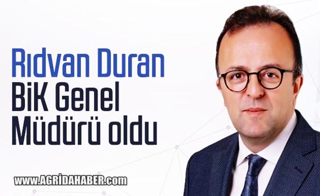 Basın İlan Kurumu Müdürlüğüne Rıdvan Duran atandı