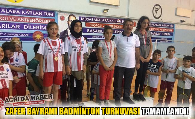 Zafer Bayramı Badminton Turnuvası Tamamlandı
