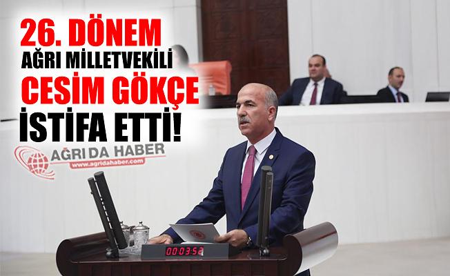 26. Dönem Ak Parti Milletvekili Cesim Gökçe İstifa Etti!