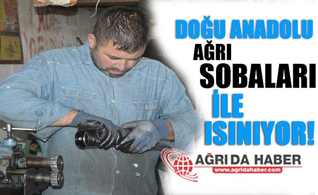 Doğu Anadolu Bölgesi Ağrı'da Üretilen Sobalarla Isınıyor!